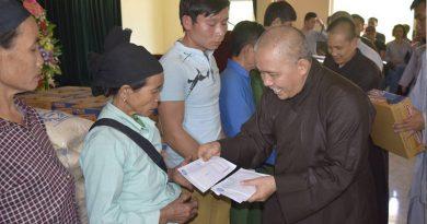 Chương trình từ thiện Thiền viện trúc lâm 2017