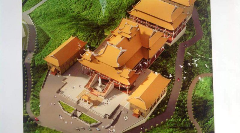 Phối cảnh Thiền Viện Trúc Lâm Đại Giác