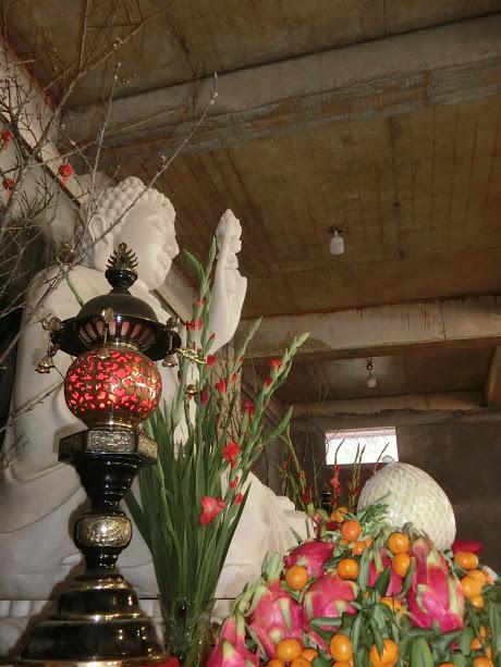 Những hình ảnh tại buổi Phổ trà và lễ Vía Phật Di Lặc đêm giao thừa ngày 30/12 Dinh Đậu và 01/01 Tết Nguyên Đán- Mậu Tuất (15 & 16/02/2018)
